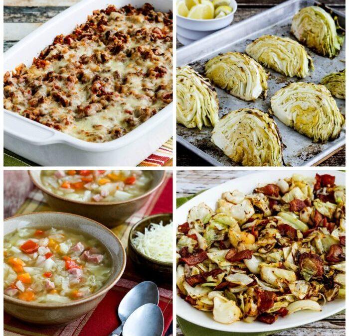 Las diez mejores recetas de Kalyn bajas en carbohidratos y ceto con repollo
