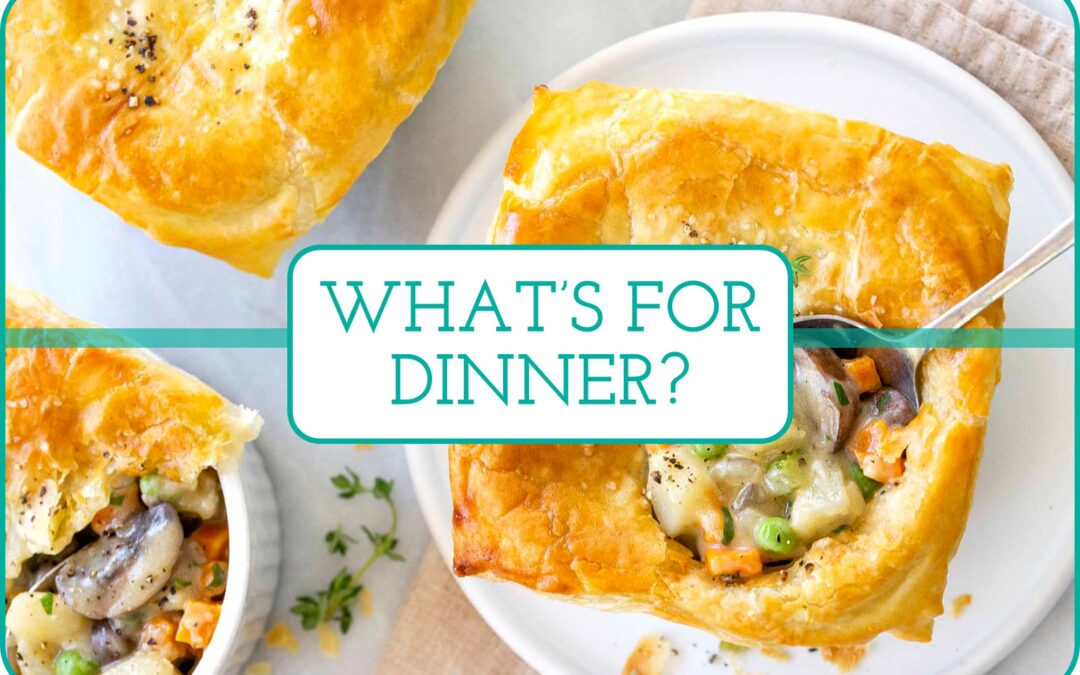 Plan de comidas de esta semana: clásicos de alimentos reconfortantes y acompañamientos de primavera