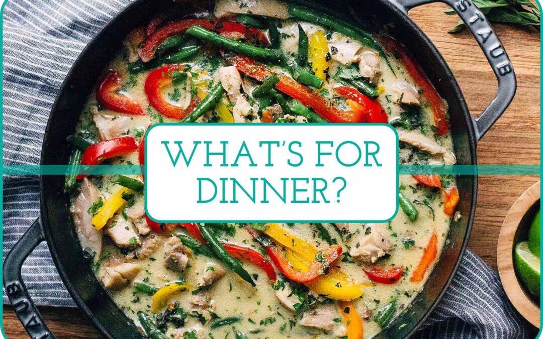 Plan de comidas de esta semana: ¡5 recetas para obtener su verde!