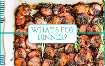 Plan de comidas de esta semana: Favoritos familiares fáciles