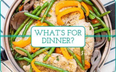 Plan de comidas de esta semana: 5 cenas simples entre semana