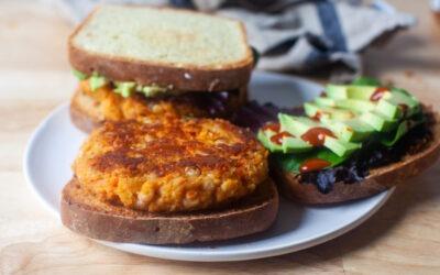 hamburguesas de zanahoria y frijoles blancos – cocina herida