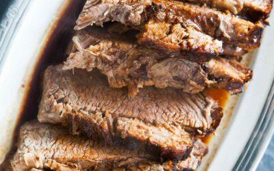 Pechuga de carne {¡Fácil, horneada en horno!} | SimplyRecipes.com