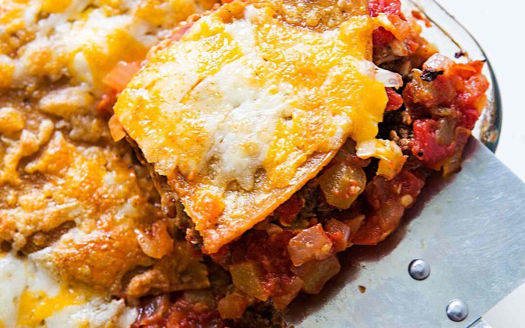 Lasaña mexicana {lasaña de taco} | SimplyRecipes.com