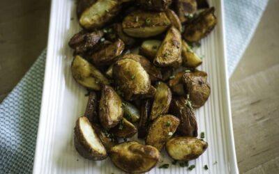 Patatas Asadas Rojas Horno Fácil