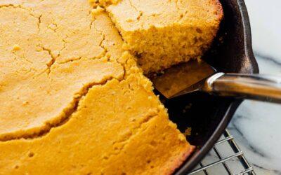 Receta de pan de maíz con mantequilla de miel – Cookie y Kate