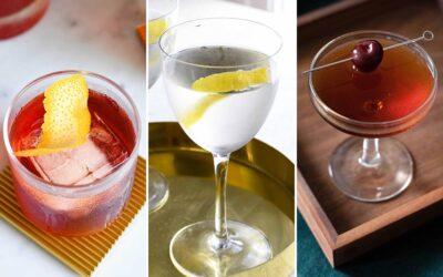 Nuestros 5 cócteles clásicos favoritos