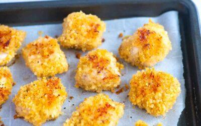Nuggets de pollo caseros ridículamente fáciles