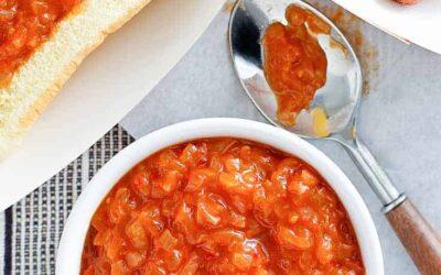 Sabretts Cebollas en Salsa para Perritos Calientes