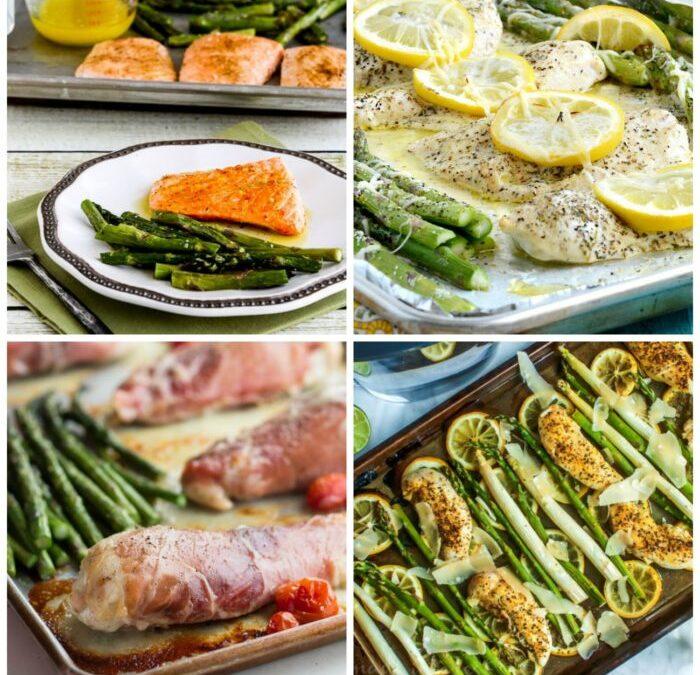 Bandejas bajas en carbohidratos con espárragos – Kalyn's Kitchen