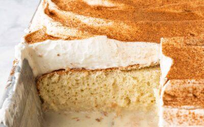 Receta de Pastel Tres Leches | SimplyRecipes.com