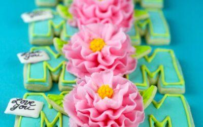 Tarjetas de galletas del día de la madre | bakerella.com
