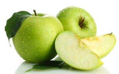 Pastel de migas de manzana Granny Smith (sin gluten)