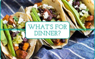 Plan de comidas semanal: 5 cenas de bajo estrés