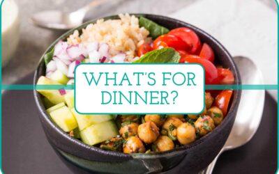 Plan de comidas semanal: 5 ideas para la cena mundana