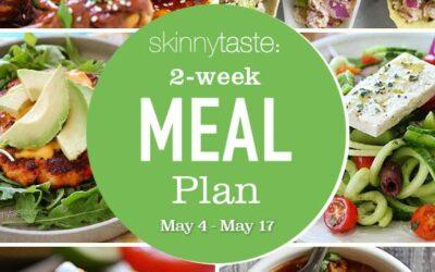 Plan de comidas saludables de 14 días (del 4 al 17 de mayo)