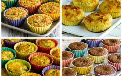 Muffins bajos en carbohidratos y muffins de desayuno (y mis tazas de silicona para hornear favoritas) – Kalyn's Kitchen
