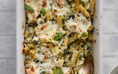 Zucchini Baked Ziti – Melted Zucchini Baked Ziti Recipe