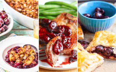 Aproveche al máximo la temporada de cerezas con estas 11 recetas
