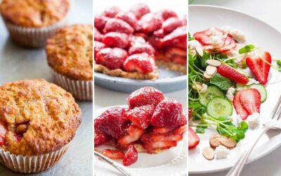 11 recetas para los amantes serios de la fresa