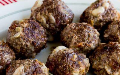 Bacon Cheeseburger Meatballs (Video) – Cocina de Kalyn