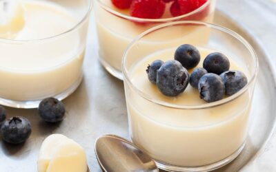 Receta fácil de pudín de limón |  SimplyRecipes.com