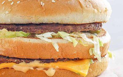 Big Mac casero con salsa especial