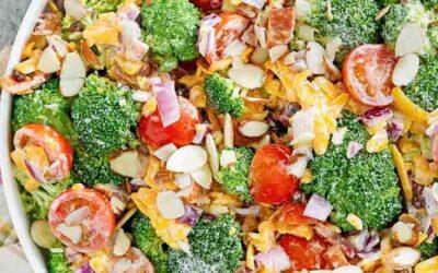 Ensalada de brócoli casera |  CopyKat Recipes