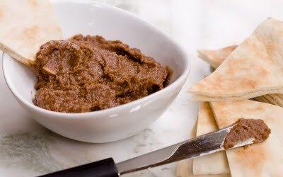 Hummus de chocolate casero