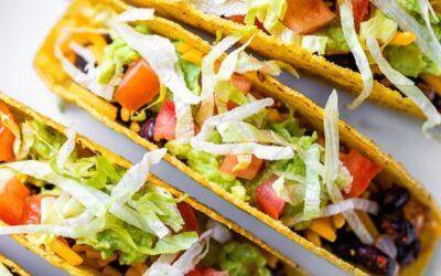 Tacos Vegetarianos de Frijoles Negros – Skinnytaste