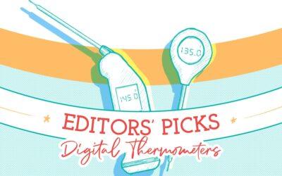 Elecciones de los redactores: Termómetros digitales de lectura instantánea