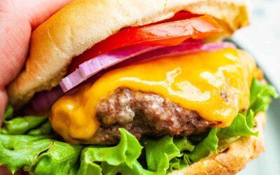 Cómo asar las mejores hamburguesas