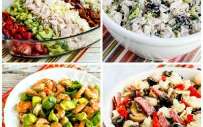 Ensaladas bajas en carbohidratos y ceto para cenas de verano – Kalyn's Kitchen