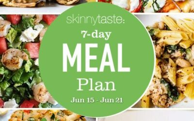 Plan de comidas saludables de 7 días (15-21 de junio)