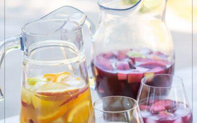 Receta de vino sangría con rojo, blanco, rosa: FÁCIL, MEJOR