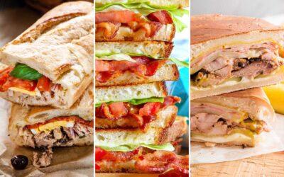 12 recetas de sándwich para cenas sencillas de verano