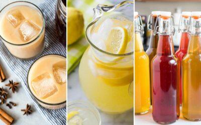 14 bebidas veraniegas para saborear y saborear