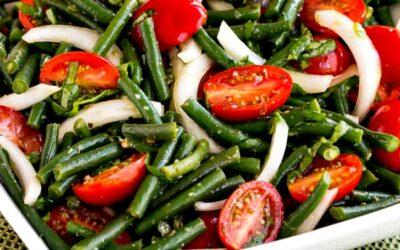 Ensalada de judías verdes y tomate (video) – Kalyn's Kitchen