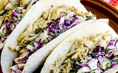 Green Chile Chicken Tacos – Kalyn's Kitchen