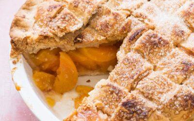 Receta de pastel de durazno a la antigua |  SimplyRecipes.com
