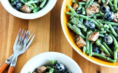 Ensalada de judías verdes con salchichas y aceitunas – Kalyn's Kitchen