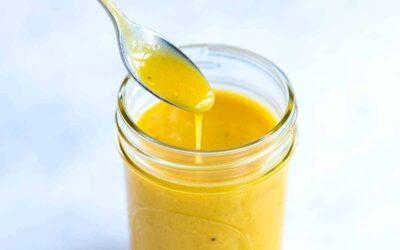 Aderezo de mostaza y miel (mejor que comprado en la tienda)