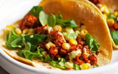 Tacos Vegan Chili Lime Tempeh