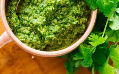 Receta de pesto de cáñamo y cilantro – Cookie y Kate