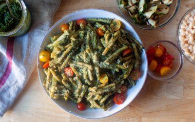pasta con pesto genovese – cocina herida