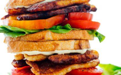 "Receta Vegetariana de Sandwich ""BLT"" – Cookie y Kate"