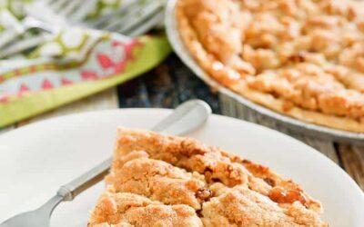 Pastel de manzana holandés |  Recetas CopyKat