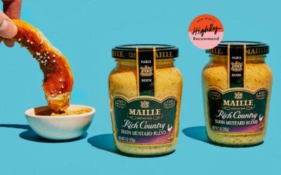 Estoy enamorado de la mostaza Dijon de Maille Rich Country, en parte por su nombre, sobre todo porque es tan bueno