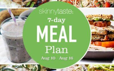 Plan de comidas saludables de 7 días (del 10 al 16 de agosto)