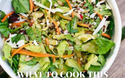 Qué cocinar este agosto